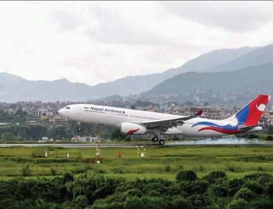 कोभिडविरुद्धको खोप लिन नेपाल वायु सेवा निगमको जहाज बेइजिङ जाँदै