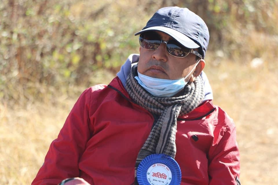 पत्रकार कृष्ण अन्जान ज्ञवालीले गर्नु भयो अनसन स्थगित